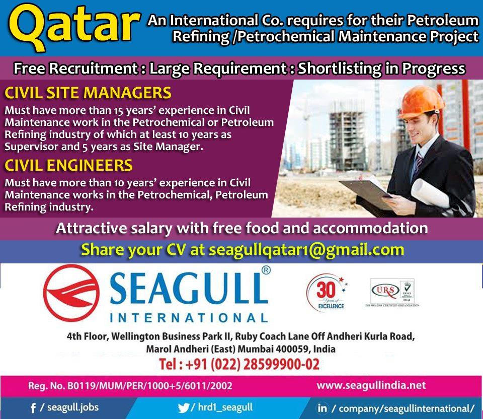 FREE RECRUITMENT FOR ZAMIL OFFSHORE COMPANY - SAUDI ARABIA