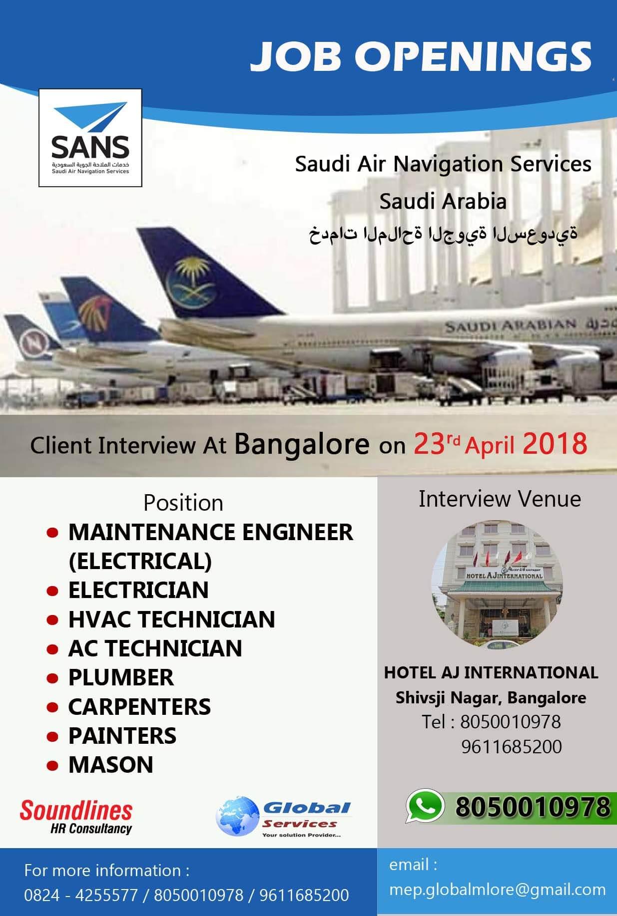 Saudi Airlines Cabin Crew Recruitment 2018